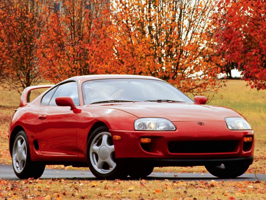 Toyota Supra купе, 1993–1996, Mark IV - отзывы, фото и характеристики на Car.ru