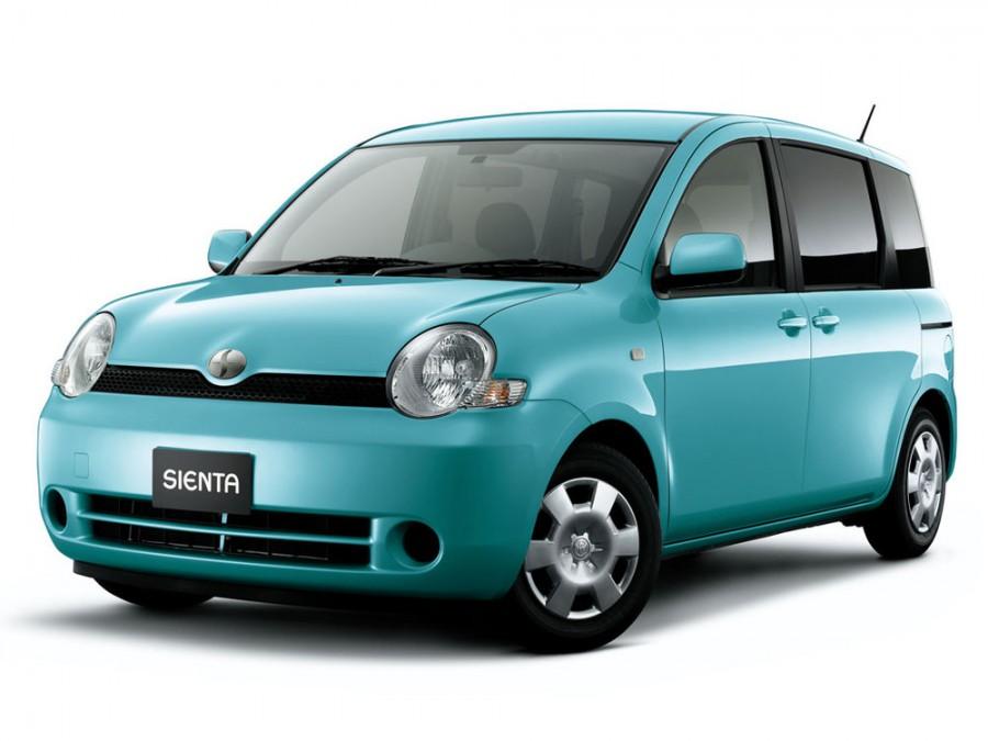 Toyota Sienta минивэн, 2003–2006, 1 поколение - отзывы, фото и характеристики на Car.ru