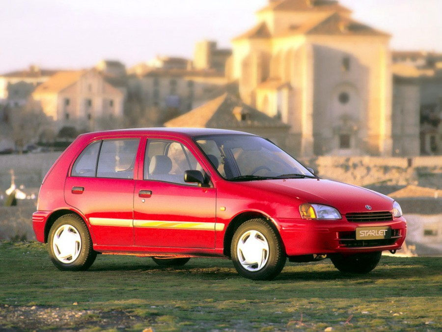 Toyota Starlet хетчбэк 5-дв., 1996–1999, 90 Series - отзывы, фото и характеристики на Car.ru