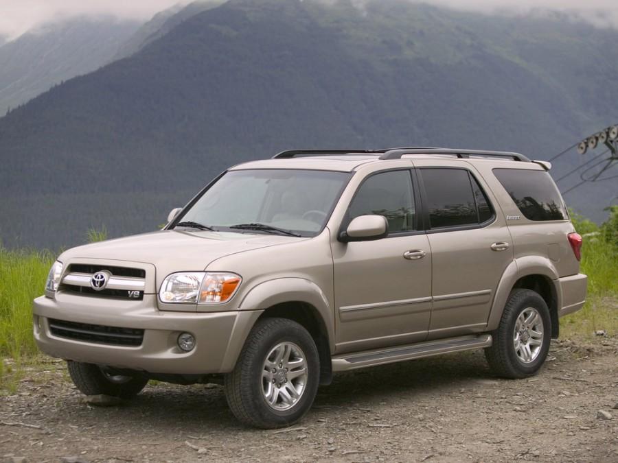 Toyota Sequoia внедорожник, 2005–2008, 1 поколение [рестайлинг] - отзывы, фото и характеристики на Car.ru