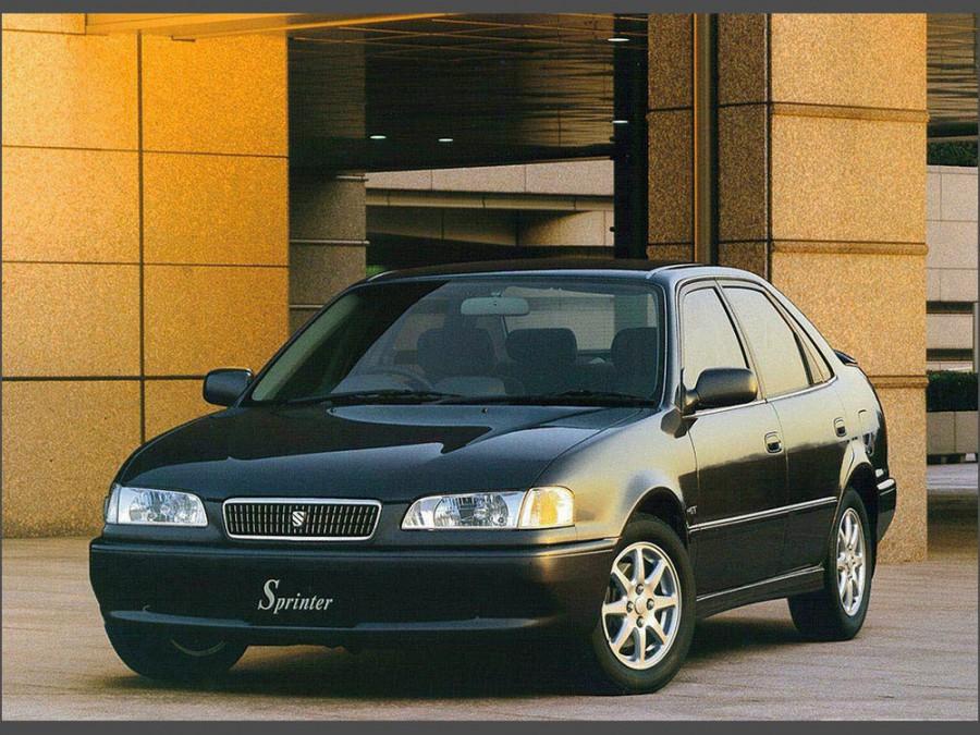 Toyota Sprinter седан, 1995–2000, E110 - отзывы, фото и характеристики на Car.ru