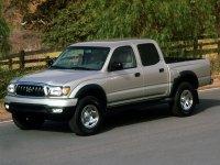Toyota Tacoma, 1 поколение [2-й рестайлинг], Double cab пикап 4-дв., 2001–2004
