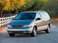 Toyota Sienna, 1 поколение, Минивэн, 1997–2001