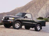 Toyota Tacoma, 1 поколение [рестайлинг], Regular пикап 2-дв., 1998–2000