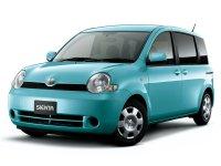 Toyota Sienta, 1 поколение, Минивэн, 2003–2006