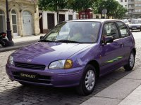 Toyota Starlet, 90 Series, Хетчбэк 3-дв., 1996–1999