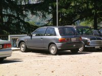 Toyota Starlet, 80 series, Хетчбэк 3-дв., 1989–1996