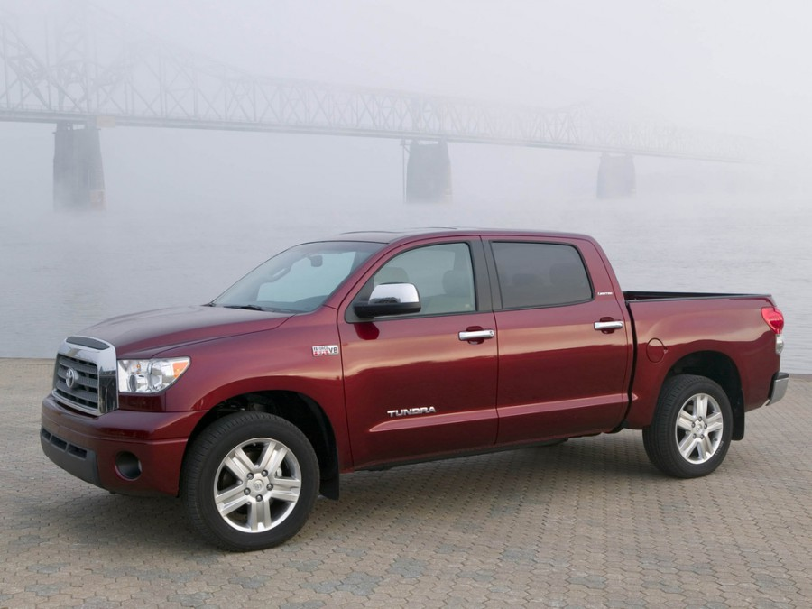 Toyota Tundra Crew Max пикап 4-дв., 2007–2008, 2 поколение - отзывы, фото и характеристики на Car.ru