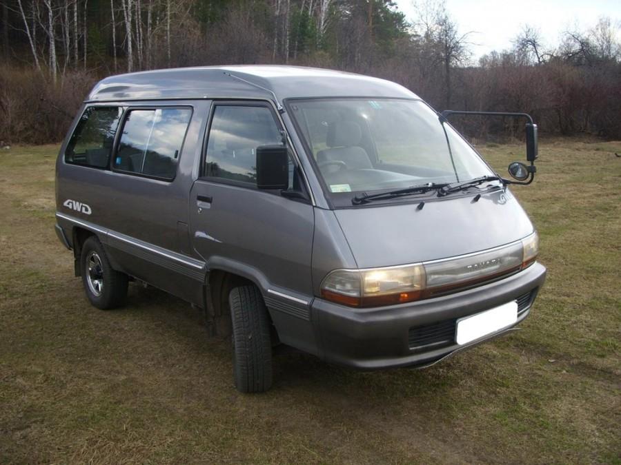 Toyota Town Ace минивэн, 1988–1992, 2 поколение [2-й рестайлинг] - отзывы, фото и характеристики на Car.ru
