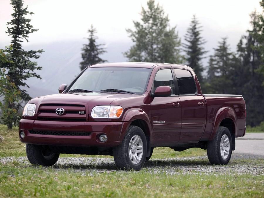 Toyota Tundra Double Cab пикап 4-дв., 2003–2006, 1 поколение [рестайлинг] - отзывы, фото и характеристики на Car.ru
