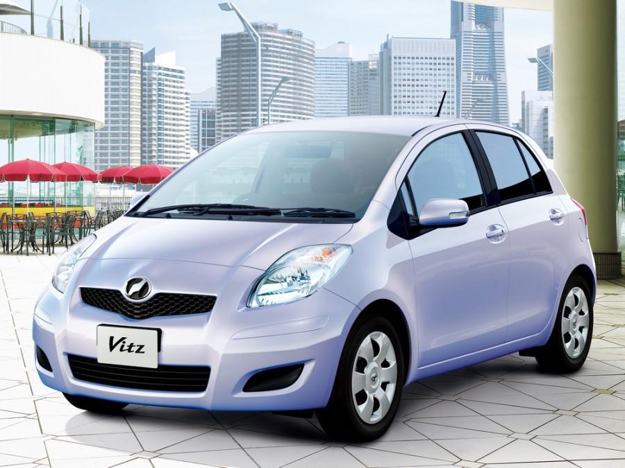 Toyota Vitz хетчбэк, 2007–2010, XP90 [рестайлинг] - отзывы, фото и характеристики на Car.ru