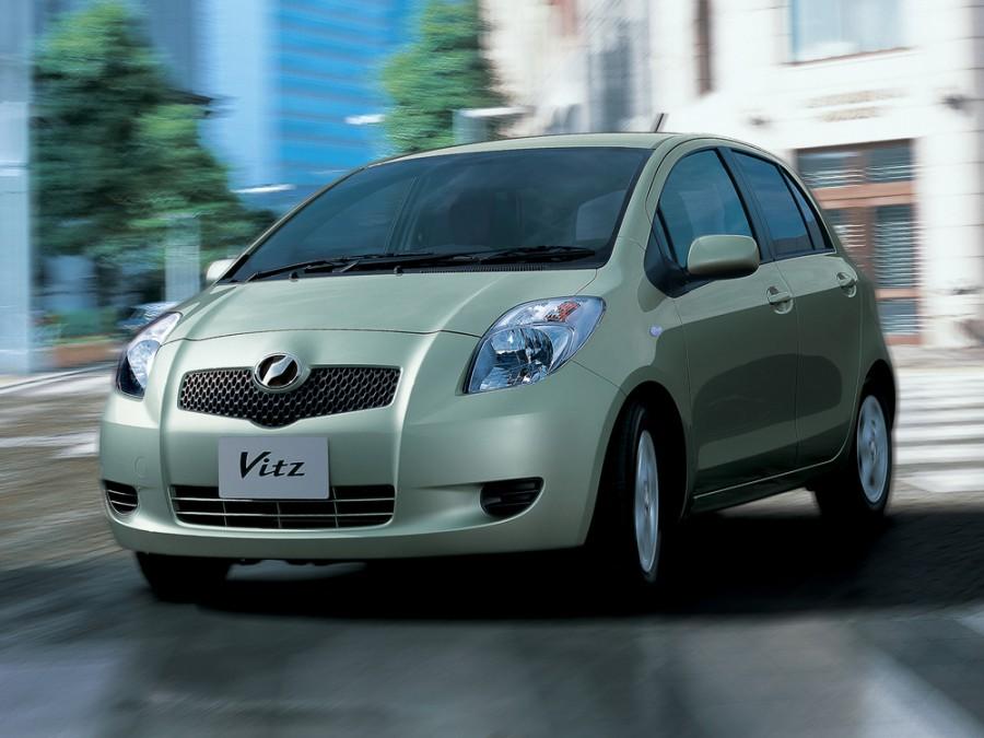 Toyota Vitz хетчбэк, 2005–2007, XP90 - отзывы, фото и характеристики на Car.ru