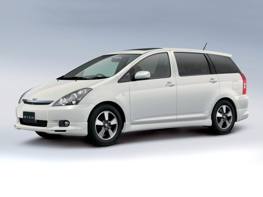 Toyota Wish минивэн, 2003–2005, 1 поколение - отзывы, фото и характеристики на Car.ru