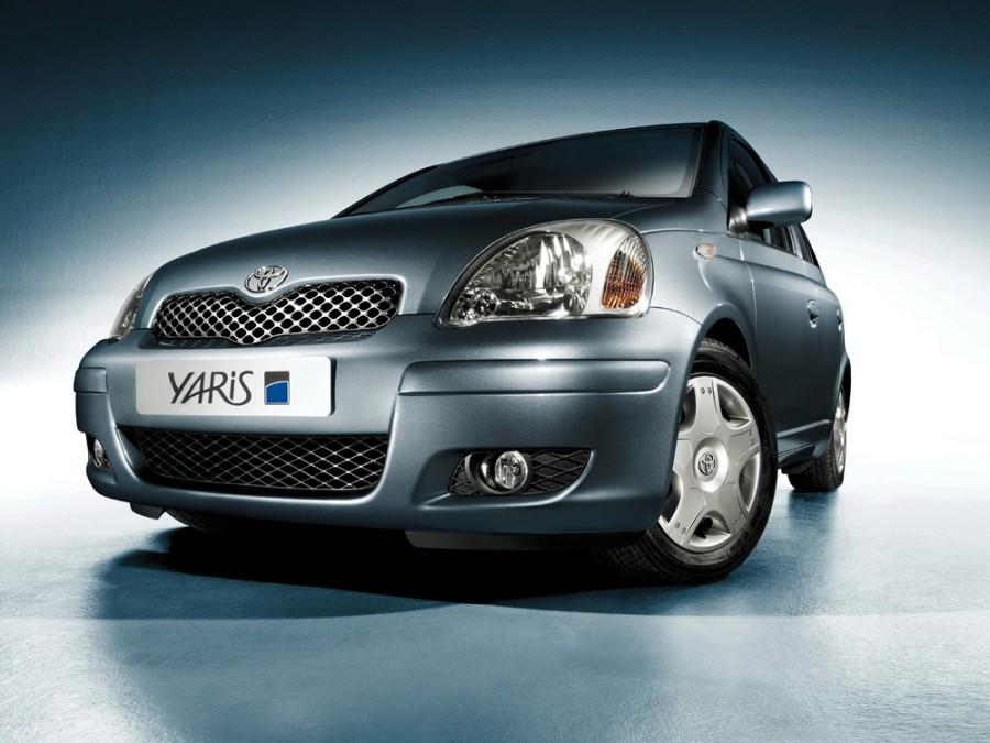 Toyota Yaris хетчбэк 5-дв., 2003–2005, P1 [рестайлинг] - отзывы, фото и характеристики на Car.ru