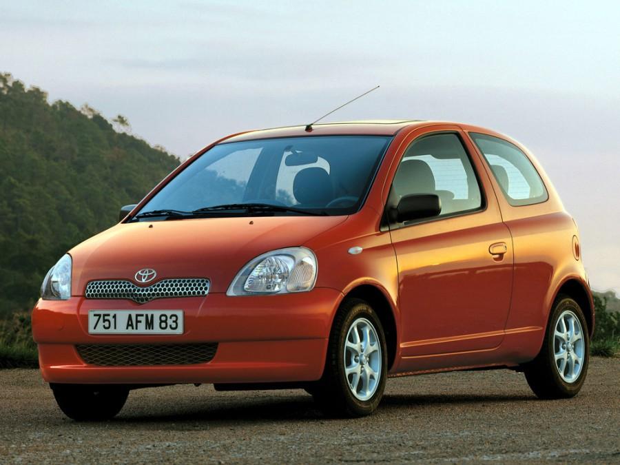Toyota Yaris хетчбэк 3-дв., 1999–2003, P1 - отзывы, фото и характеристики на Car.ru