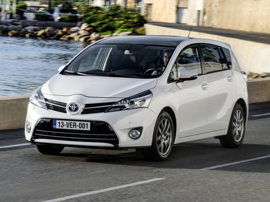 Toyota Verso минивэн, 2012–2015, 1 поколение [рестайлинг] - отзывы, фото и характеристики на Car.ru
