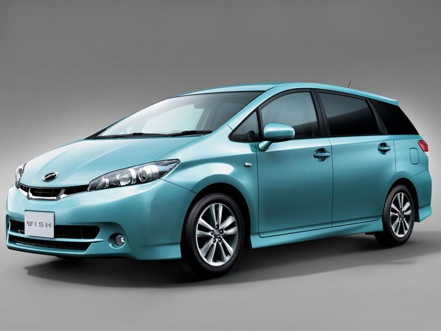 Toyota Wish минивэн, 2009–2012, 2 поколение - отзывы, фото и характеристики на Car.ru