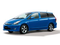 Toyota Wish, 1 поколение [рестайлинг], Минивэн, 2005–2009