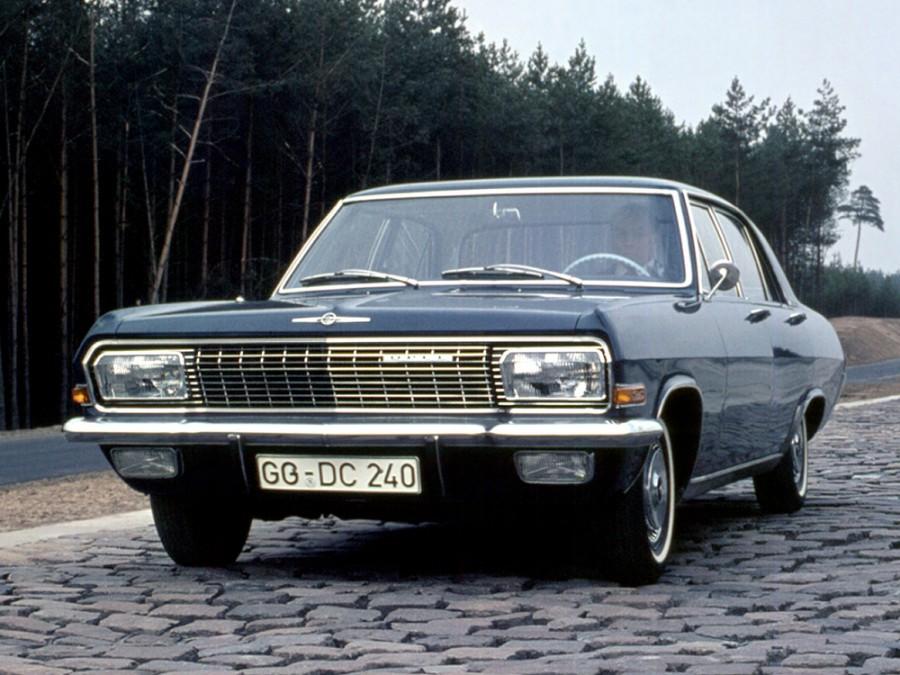 Opel Admiral седан, A - отзывы, фото и характеристики на Car.ru