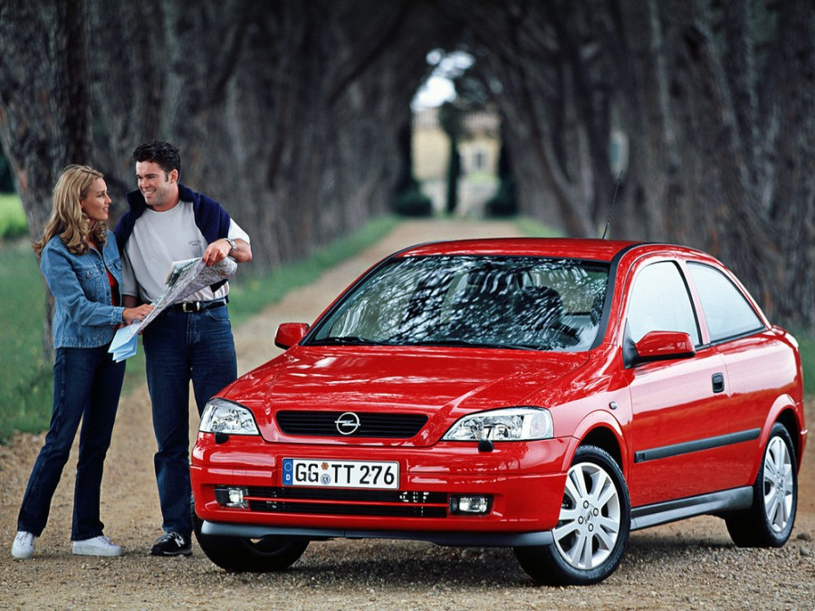 Opel Astra хетчбэк 3-дв., 1998–2009, G, 1.2 MT (75 л.с.), характеристики