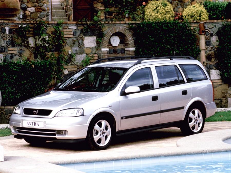Opel Astra универсал 5-дв., 1998–2009, G - отзывы, фото и характеристики на Car.ru