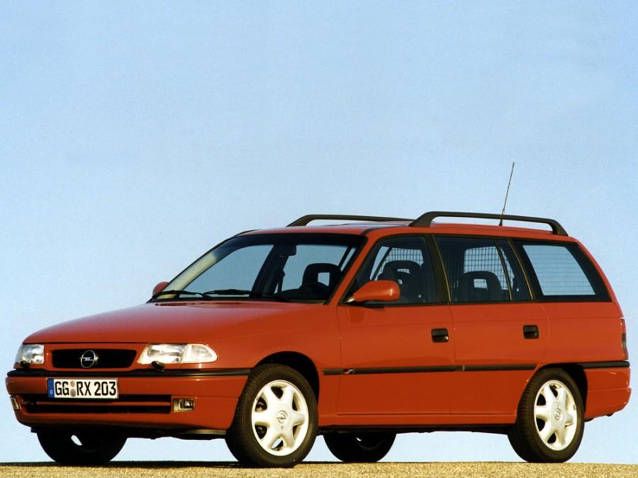 Opel Astra универсал, 1994–2002, F [рестайлинг] - отзывы, фото и характеристики на Car.ru