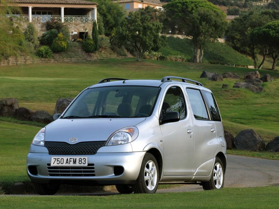 Toyota Yaris Verso минивэн, 1 поколение - отзывы, фото и характеристики на Car.ru