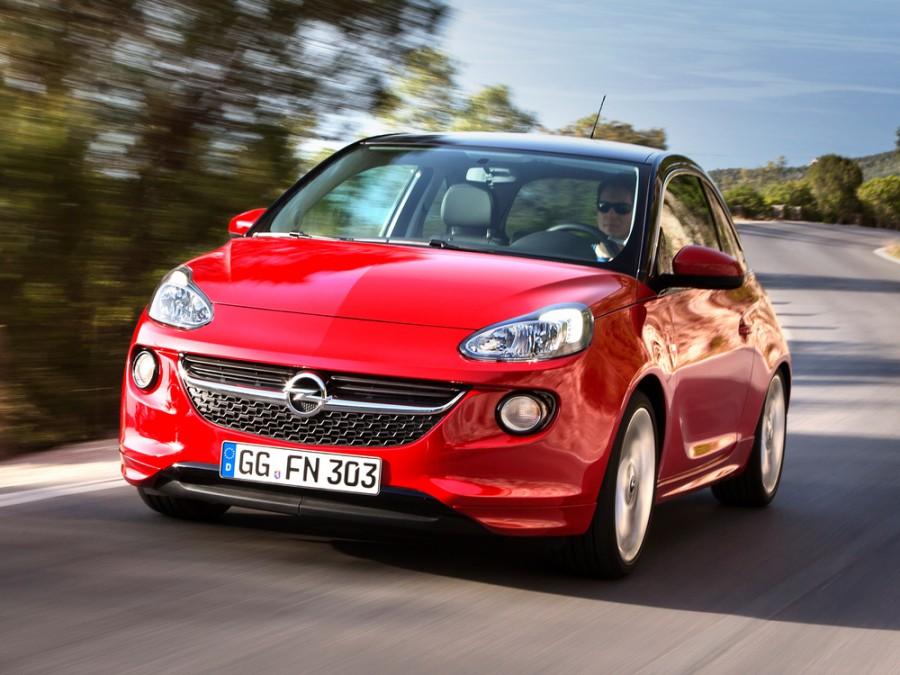 Opel Adam хетчбэк, 2012–2016, 1 поколение - отзывы, фото и характеристики на Car.ru