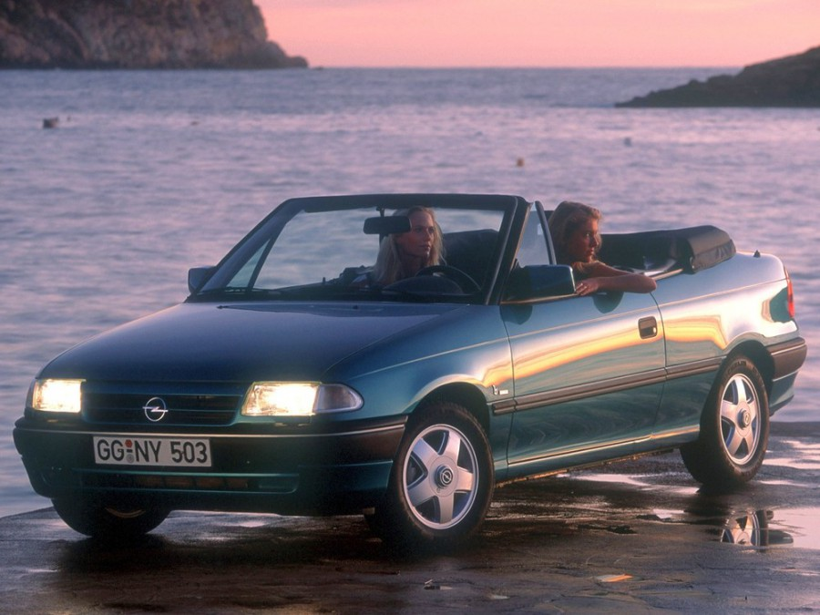 Opel Astra кабриолет, 1991–1994, F - отзывы, фото и характеристики на Car.ru