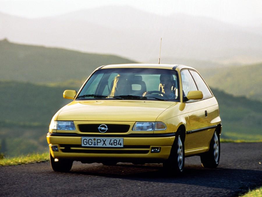 Opel Astra хетчбэк, 1994–2002, F [рестайлинг] - отзывы, фото и характеристики на Car.ru