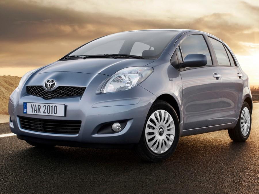 Toyota Yaris хетчбэк 5-дв., 2009–2012, XP9 [рестайлинг] - отзывы, фото и характеристики на Car.ru