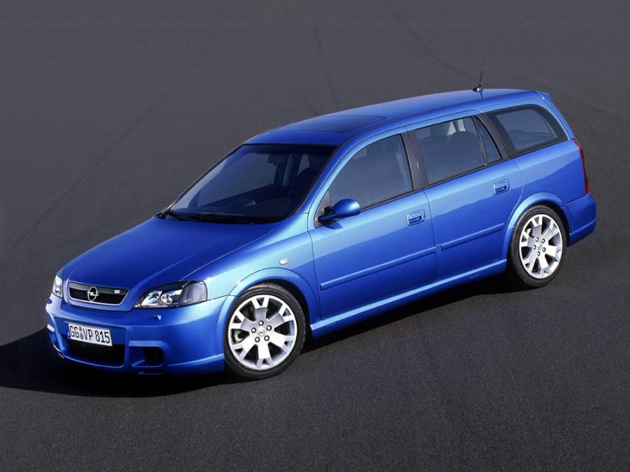 Opel Astra OPC универсал 5-дв., 1998–2009, G - отзывы, фото и характеристики на Car.ru