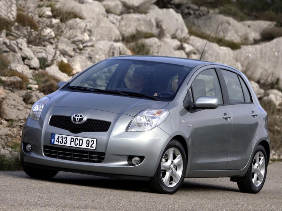 Toyota Yaris хетчбэк 5-дв., 2005–2016, XP9 - отзывы, фото и характеристики на Car.ru