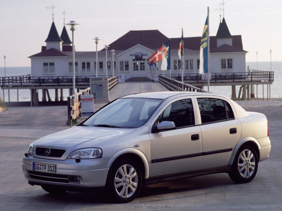 Opel Astra седан 4-дв., 1998–2009, G - отзывы, фото и характеристики на Car.ru