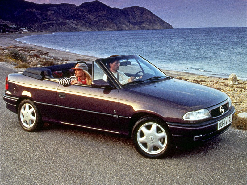 Opel Astra кабриолет, 1994–2002, F [рестайлинг] - отзывы, фото и характеристики на Car.ru