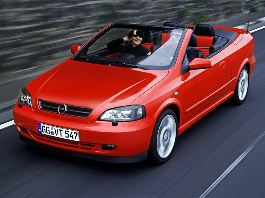 Opel Astra кабриолет 2-дв., 1998–2009, G - отзывы, фото и характеристики на Car.ru