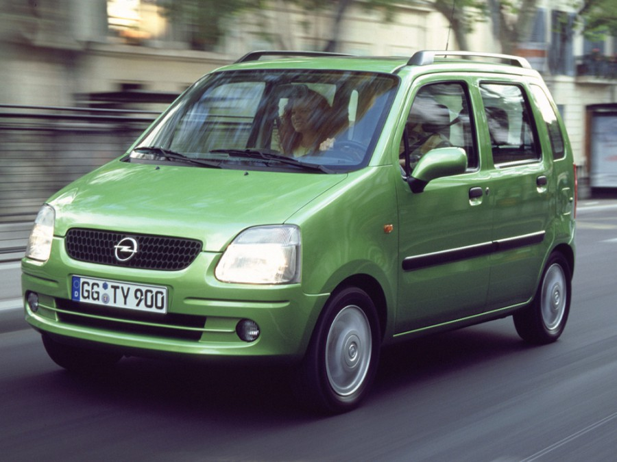 Opel Agila минивэн, 2000–2003, 1 поколение - отзывы, фото и характеристики на Car.ru