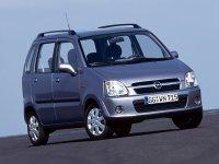 Opel Agila, 1 поколение [рестайлинг], Минивэн, 2003–2007