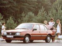 Opel Ascona, C, Седан 4-дв., 1981–1988