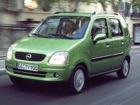 Opel Agila, 1 поколение, Минивэн, 2000–2003
