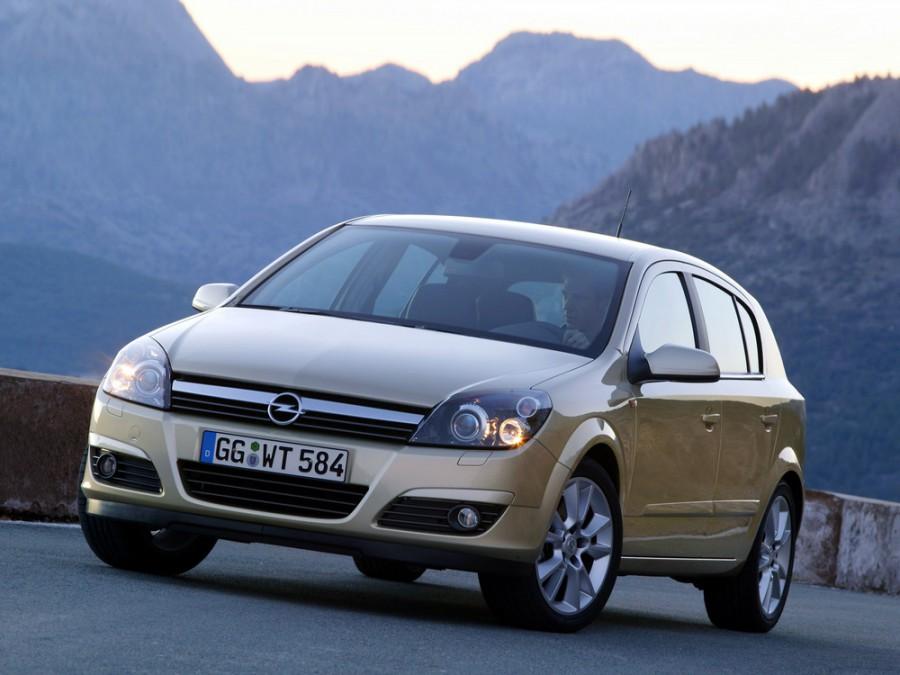 Opel Astra хетчбэк 5-дв., 2004–2011, H - отзывы, фото и характеристики на Car.ru