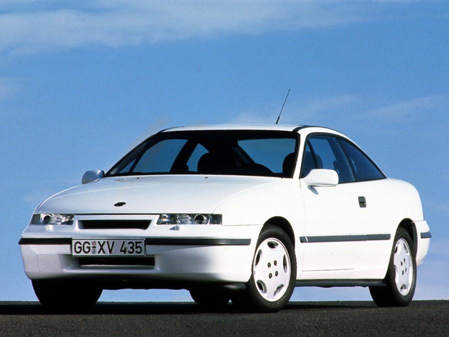 Opel Calibra купе, 1990–1994, 1 поколение - отзывы, фото и характеристики на Car.ru