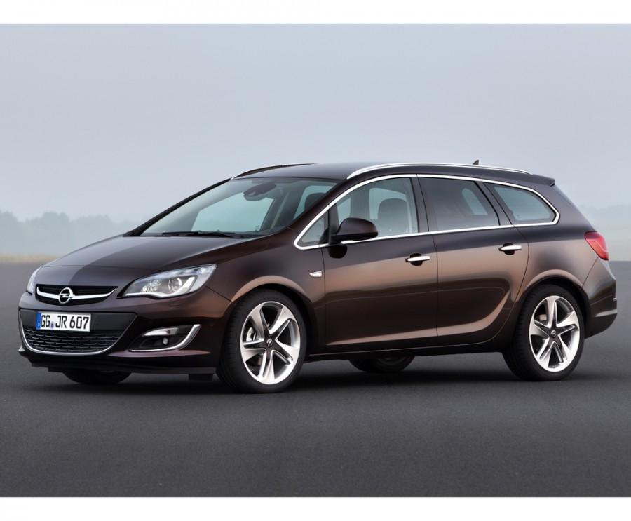 Opel Astra Sports Tourer универсал 5-дв., 2012–2016, J [рестайлинг] - отзывы, фото и характеристики на Car.ru