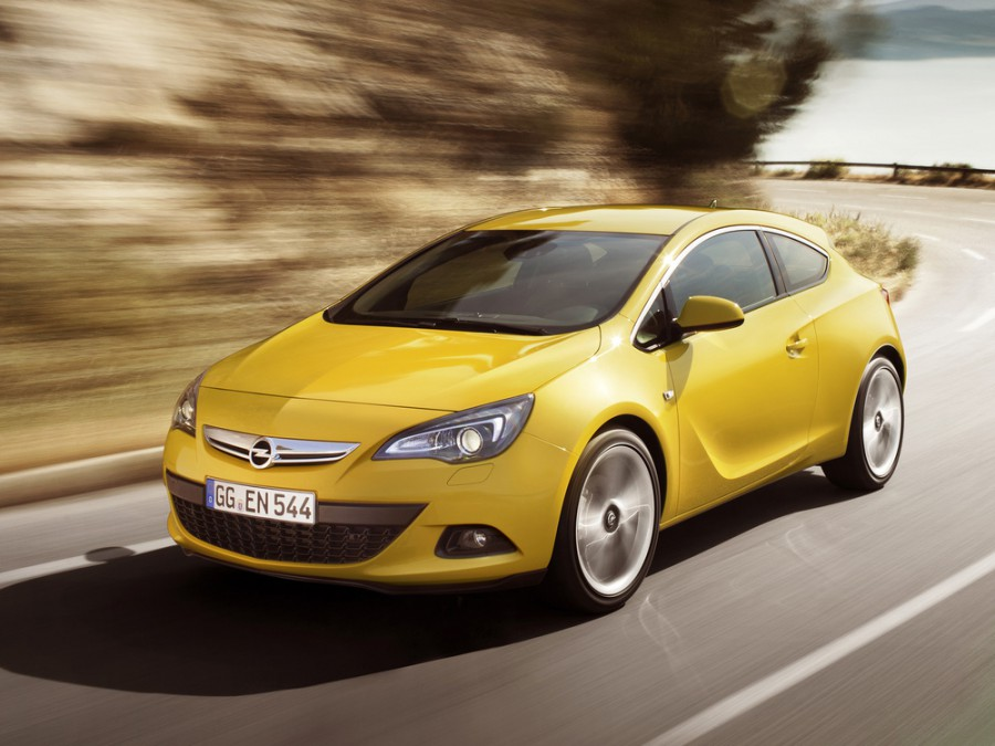 Opel Astra GTC хетчбэк 3-дв., 2009–2015, J, 1.6 SIDI Turbo ecoFLEX MT (170 л.с.), характеристики