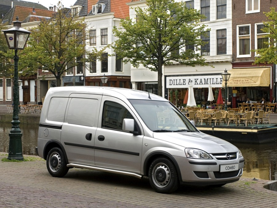 Opel Combo фургон, 2005–2011, C [рестайлинг] - отзывы, фото и характеристики на Car.ru