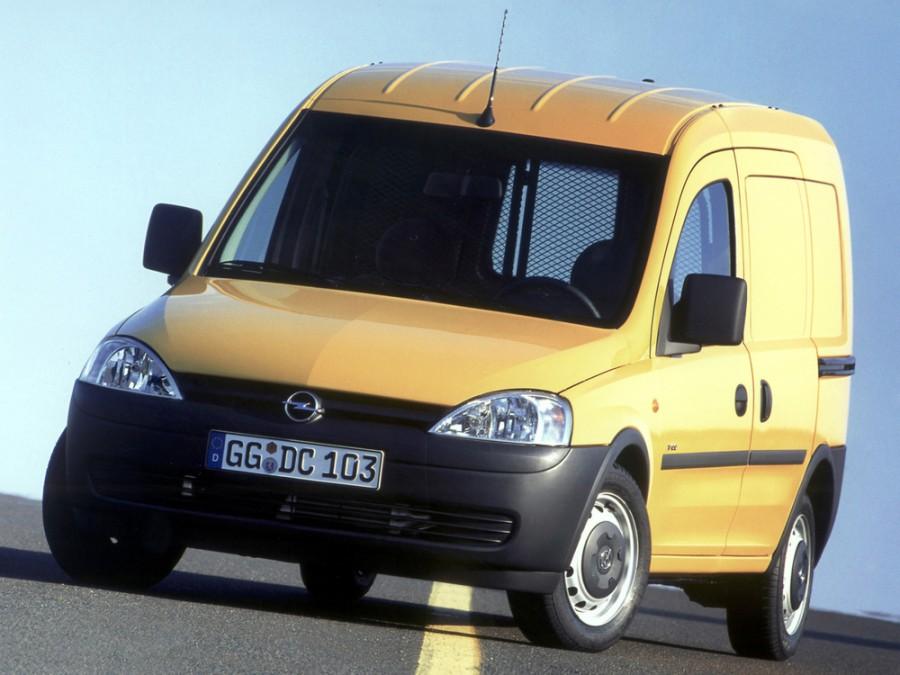 Opel Combo фургон, 2001–2005, C - отзывы, фото и характеристики на Car.ru