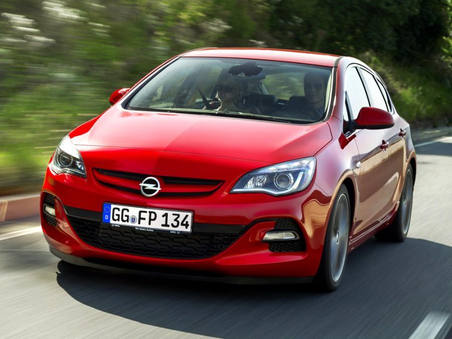 Opel Astra BiTurbo хетчбэк 5-дв., 2012–2016, J [рестайлинг] - отзывы, фото и характеристики на Car.ru