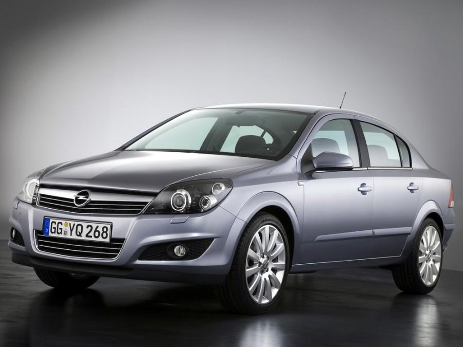 Opel Astra седан, 2007–2015, Family/H [рестайлинг] - отзывы, фото и характеристики на Car.ru