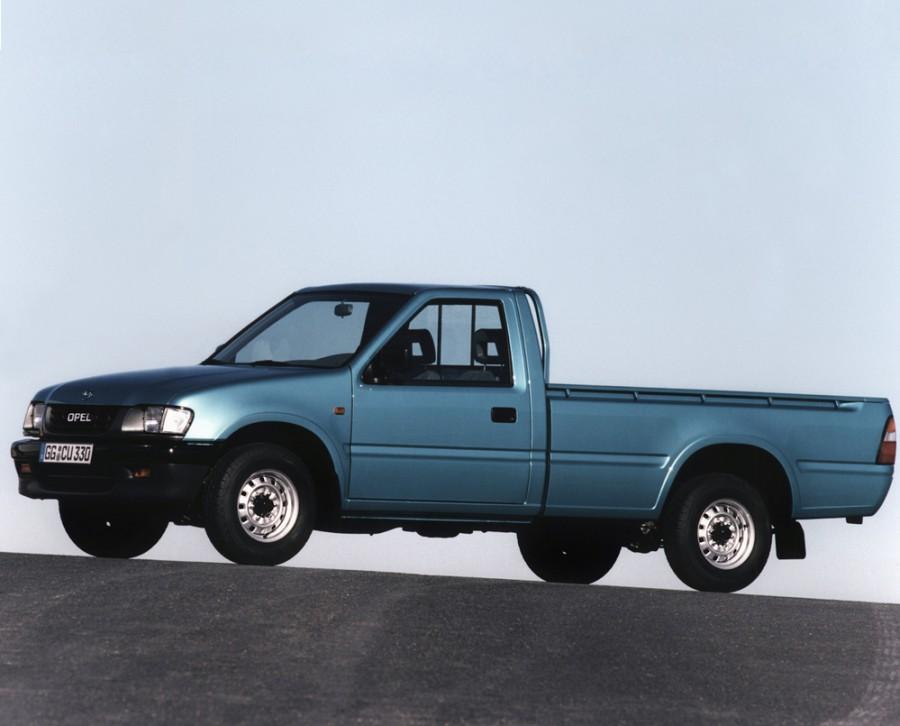 Opel Campo пикап 2-дв., 1997–2001, 1 поколение [рестайлинг] - отзывы, фото и характеристики на Car.ru