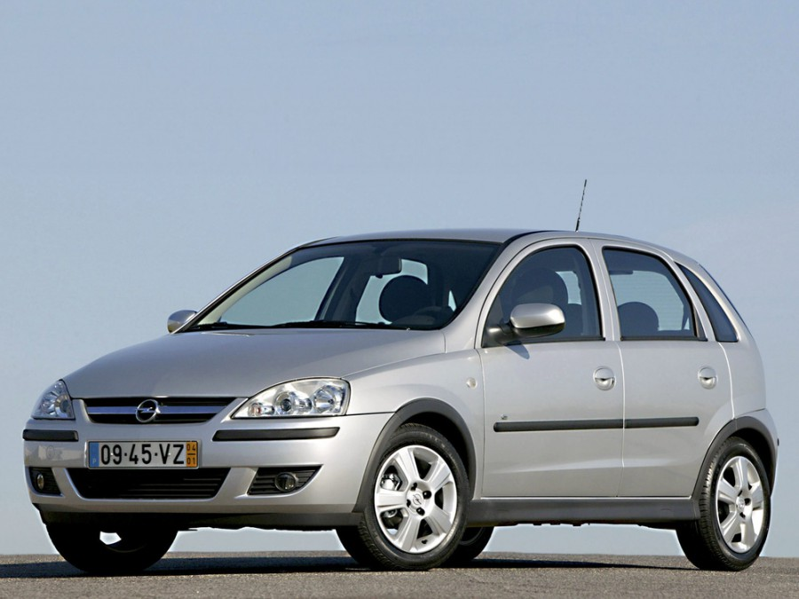 Opel Corsa хетчбэк 5-дв., 2003–2006, C [рестайлинг] - отзывы, фото и характеристики на Car.ru